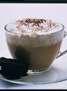 Caffè con panna alla viennese