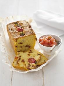 Il cake con concassé aromatica