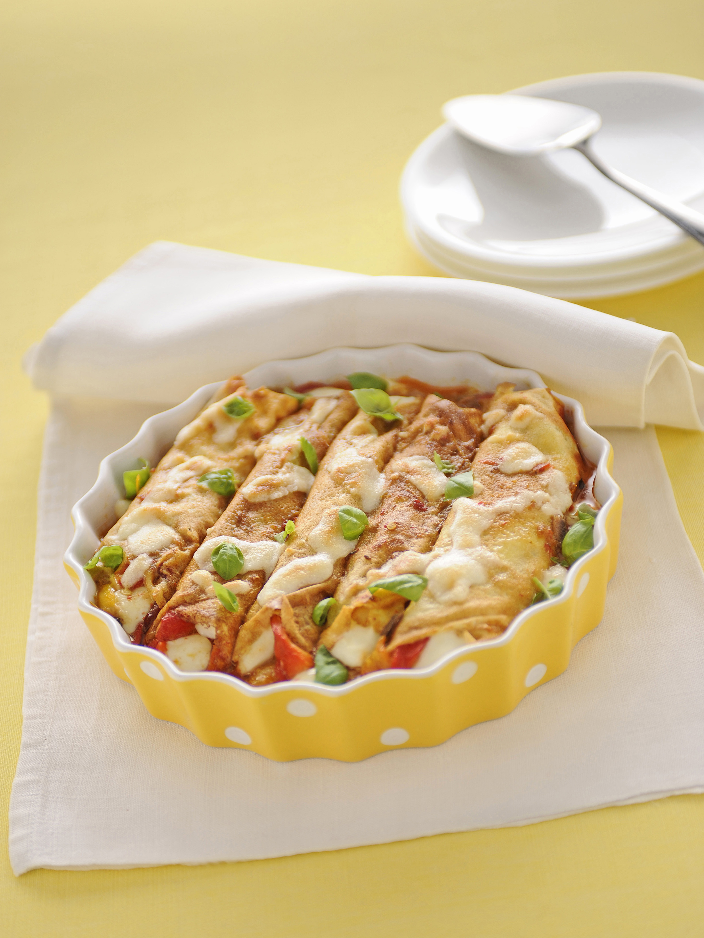 Ricette crepes salate primo piatto