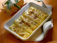cannelloni ripieni di taleggio e porri Sale&Pepe ricetta