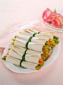 I cannoli di pane con verdure