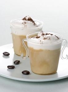 Il cappuccino semifreddo alla panna