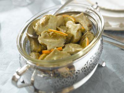carciofi-allarancia ricetta