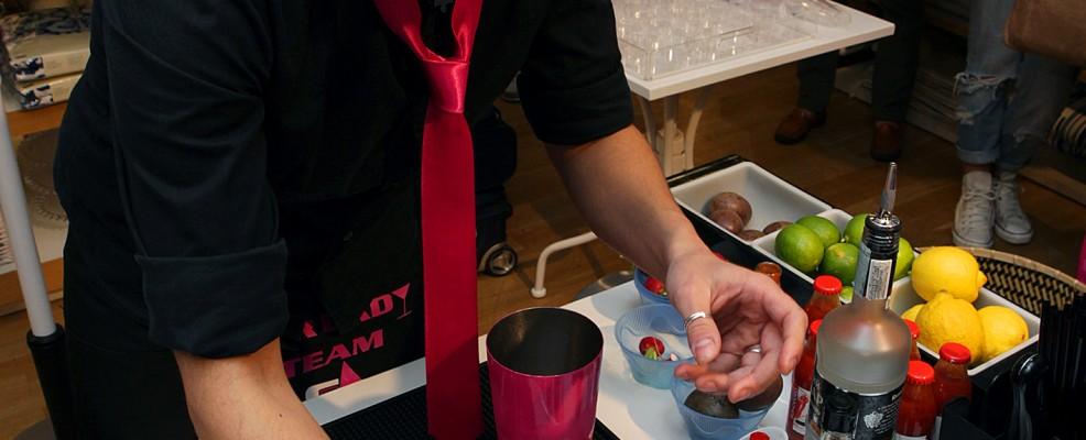 Carmen Clemente: la preparazione del drink