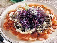 carpaccio-vegetariano-con-cavolo-rosso ricetta Sale&Pepe