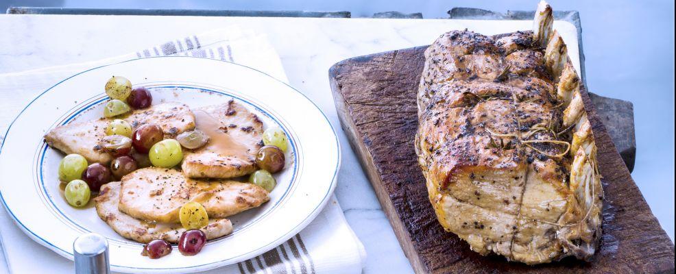 carré di maiale in dolceagro Sale&Pepe ricetta