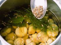 castagne-bollite immagine