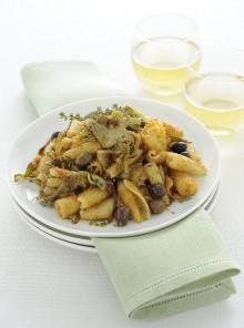 Le castellane con le olive