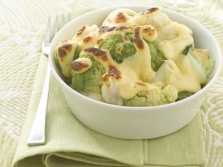 cavolfiori-bianchi-e-verdi-con-fonduta-valdostana ricetta