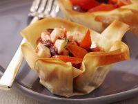 cestinetti con insalata caprese ricetta Sale&Pepe