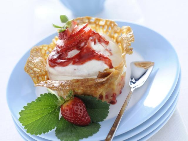 cestini-con-crema-di-ricotta ricetta