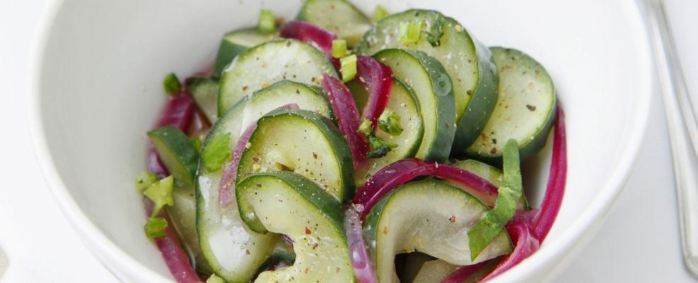 Cetrioli in salamoia piccante Sale&Pepe ricetta