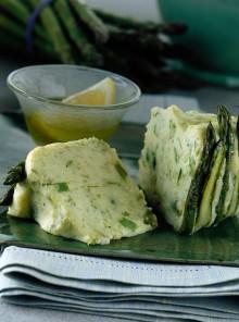 Charlotte di asparagi e patate