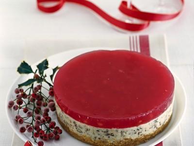 cheese-cake-alla-gelatina-di-melagrana ricetta