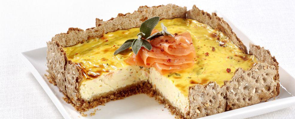 cheesecake al salmone affumicato ricetta Sale&Pepe