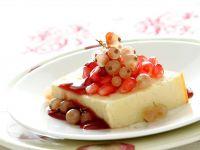 cheesecake-con-melagrana-e-ribes-bianco