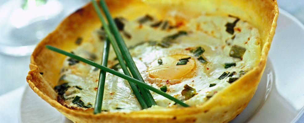 ciotoline di tortillas con le uova all'erba cipollina Sale&Pepe ricetta