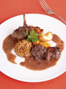 Il civet di coniglio al vino rosso e spezie
