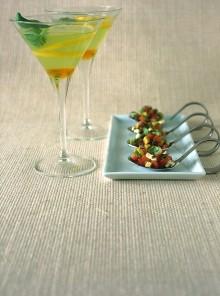 Il cocktail al basilico e miele