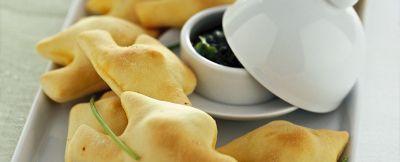 colombine-al-forno-con-pesto-di-erbe ricetta