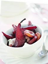 composta-speziata-di-pere-al-vino-rosso ricetta