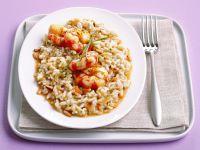 con-mazzancolle-e-pinoli-al-burro ricetta