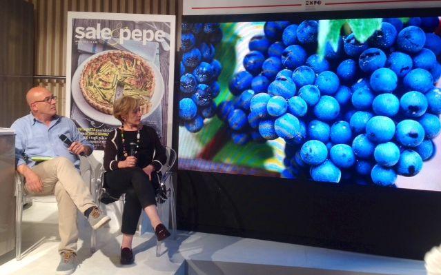 Laura Maragliano con Mauro Fermariello al Food Experience