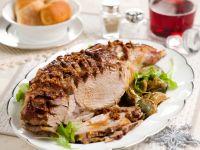 cosciotto di agnello al forno-con i carciofi Sale&Pepe ricetta