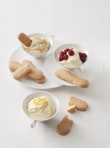 La crema con biscotti