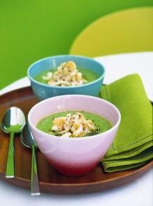 La crema di zucchine con i totani