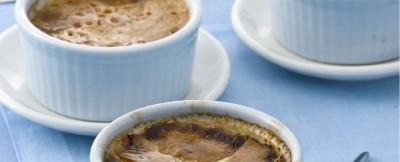 Crème brulée in cocotte