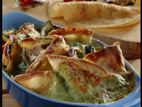crespelle con verdure grigliate Sale&Pepe