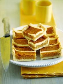 La crostata al miele di tiglio con pan speziato