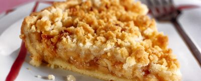 crostata alla cannella con le briciole