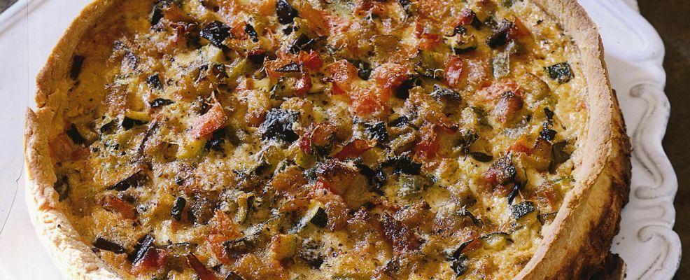 crostata alla ratatouille ricetta Sale&Pepe