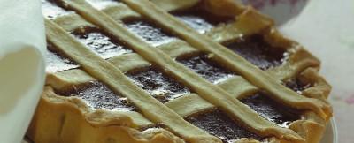 crostata classica alle albicocche
