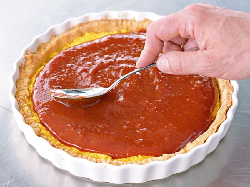 crostata-con-confettura-di-corbezzolo foto