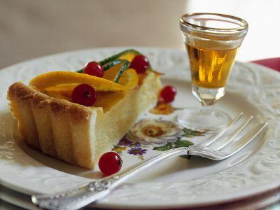 crostata con crema di agrumi ricetta