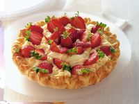 crostata con mousse di cioccolato bianco e fragole ricetta Sale&Pepe