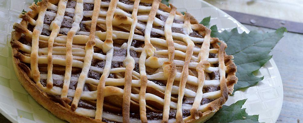crostata di cacao, pere e ricotta Sale&Pepe ricetta
