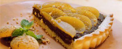 crostata-di-pesche-agli-amaretti ricetta