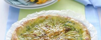 crostata di zucchine e fiori di zucca ricetta