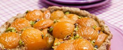 crostata-integrale-di-albicocche-e-mele-verdi ricetta