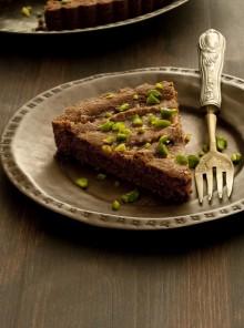 La crostata rustica ai pistacchi