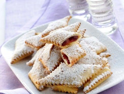 crostoli-alla-marmellata ricetta