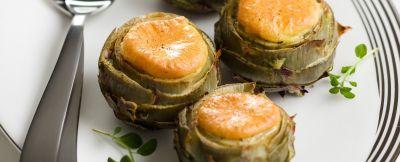 cuori di carciofi farciti ricetta
