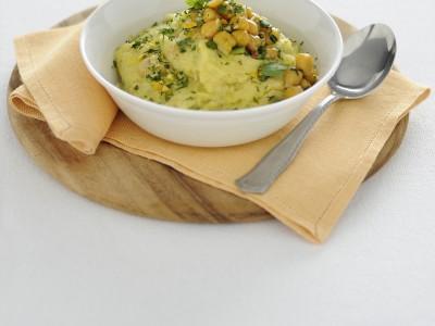 cupolette-con-ceci-e-gremolata-di-agrumi ricetta