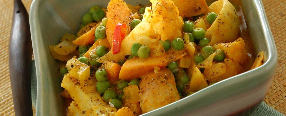 Curry vegetariano Sale&Pepe ricetta