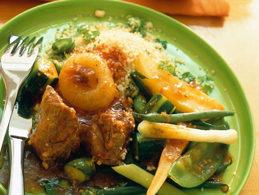 cuscus-di-agnello-con-verdure foto