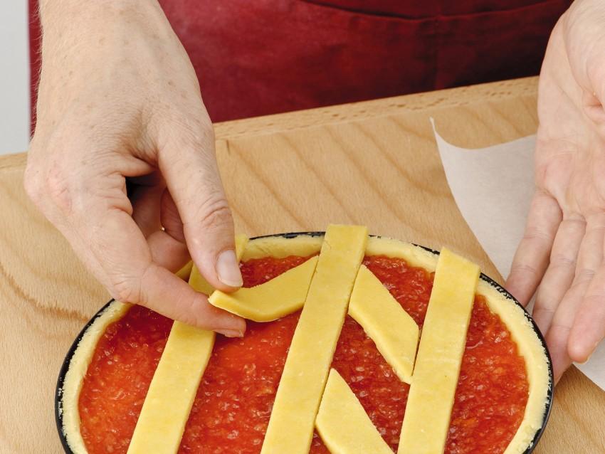decoro a spina di pesce per crostata Sale&Pepe ricetta